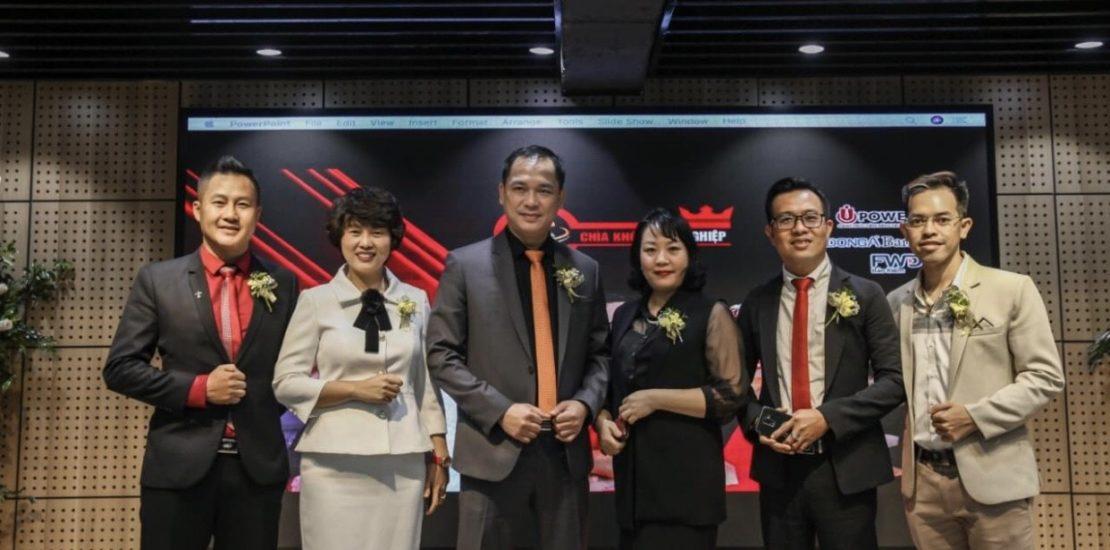 Các Lãnh Đạo Cấp Cao Của UPOWER Tham Dự Lễ Khai Trương Văn Phòng UPWOER Miền Bắc
